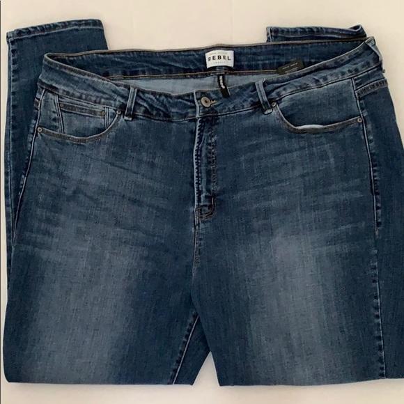 Rebel Wilson Denim - Rebel Wilson Jeans sz 22 Pin Up Skinny